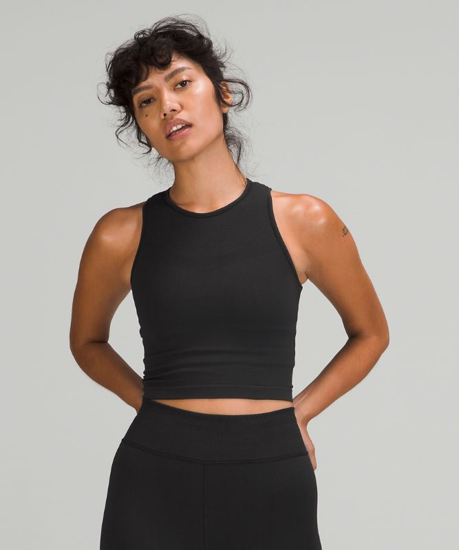 For the Chill of It Crop Tank Top