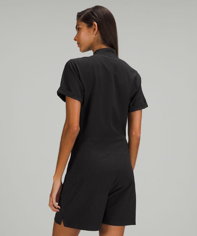lululemon lab Short Sleeve Jumpsuit