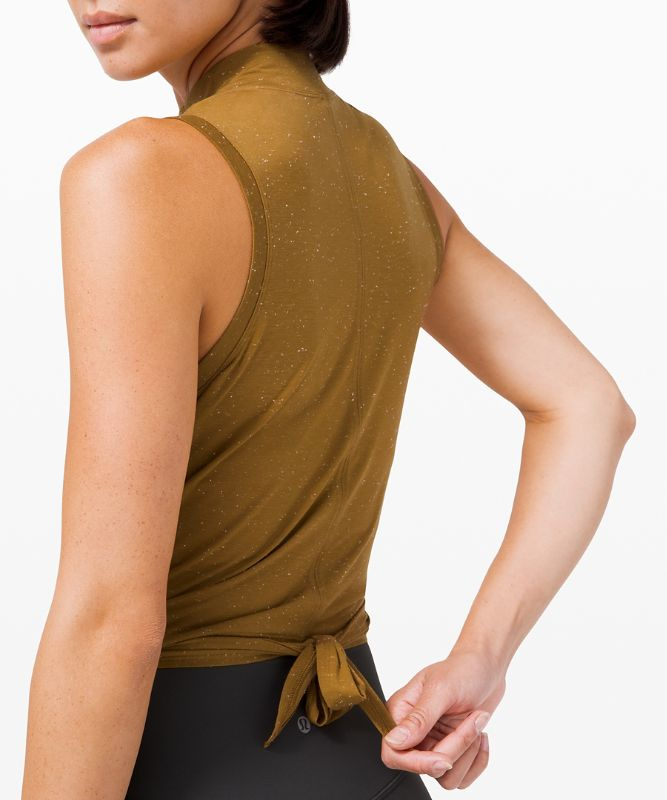 Time to Restore Mock Neck Tank