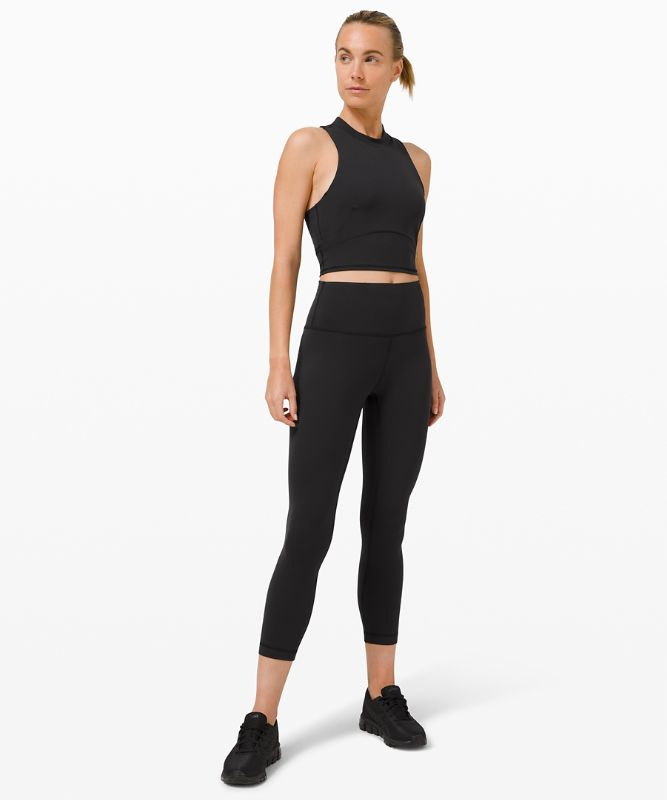 Everlux™ and Mesh Cropped Tank