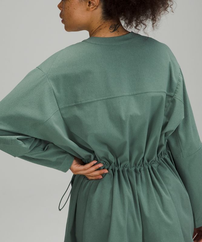 Ventlight™ Button Front Dress