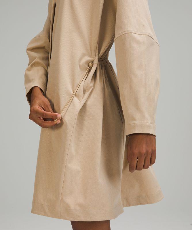 Robe boutonnée à l'avant en Ventlight™