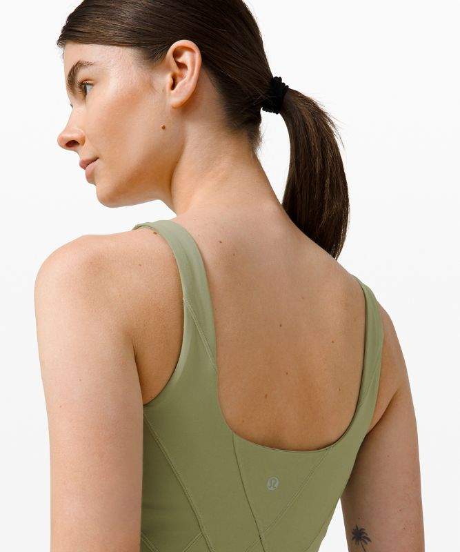 Nulu™ Fold Tight Crop Yoga Tank Top