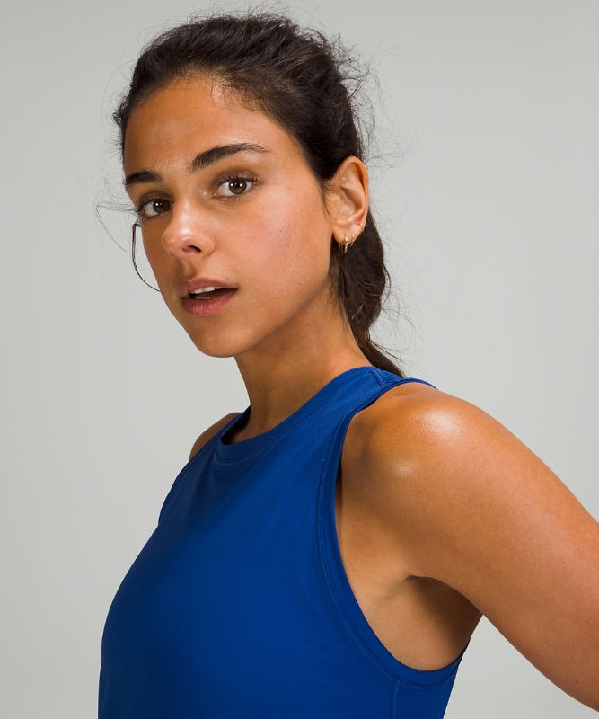 High Neck Running and Training Tank Top