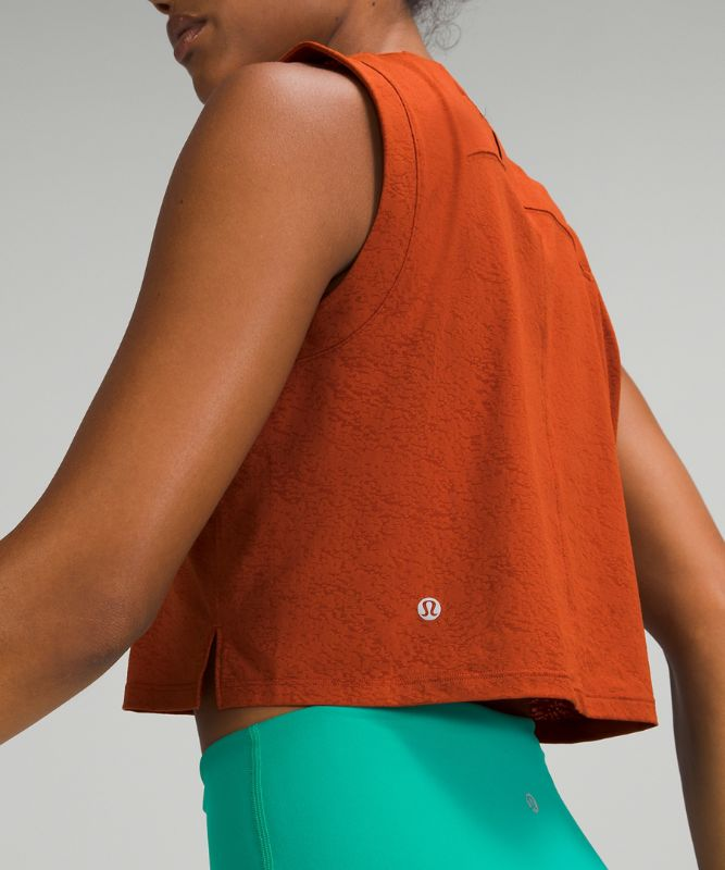 Cropped Training Tank Top