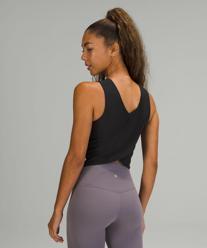 Nulu Twist Back Yoga Tank Top
