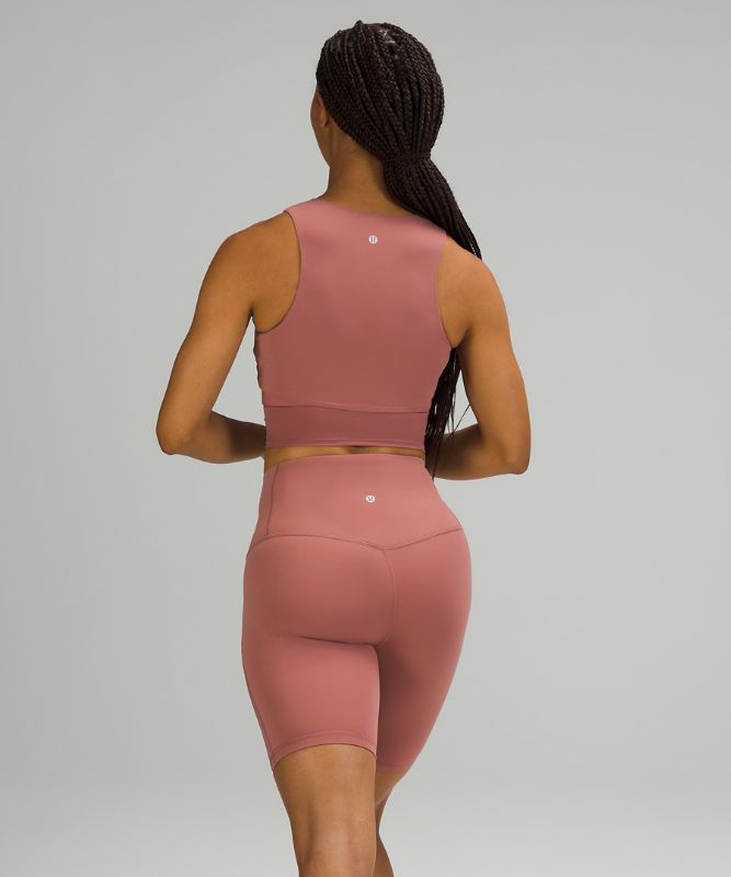 Nulu™ and Mesh Yoga Tank Top