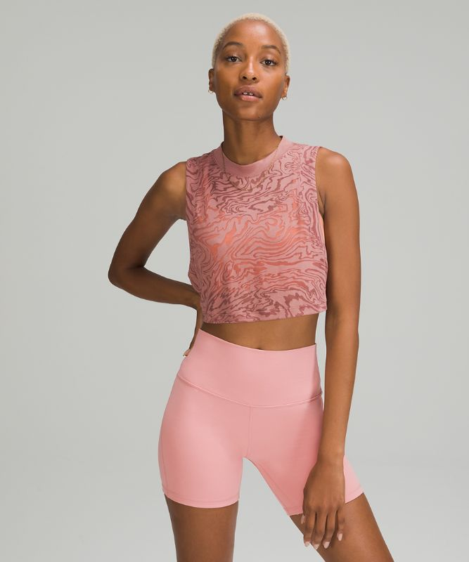 All Yours Crop Tank *Veil