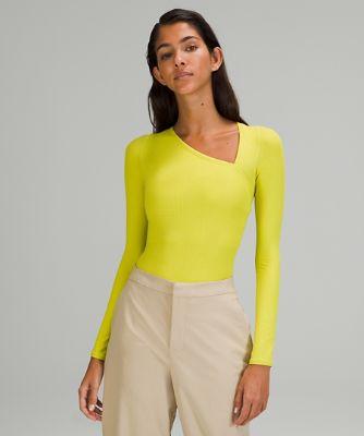lululemon lab Asymmetrical Long Sleeve Bodysuit