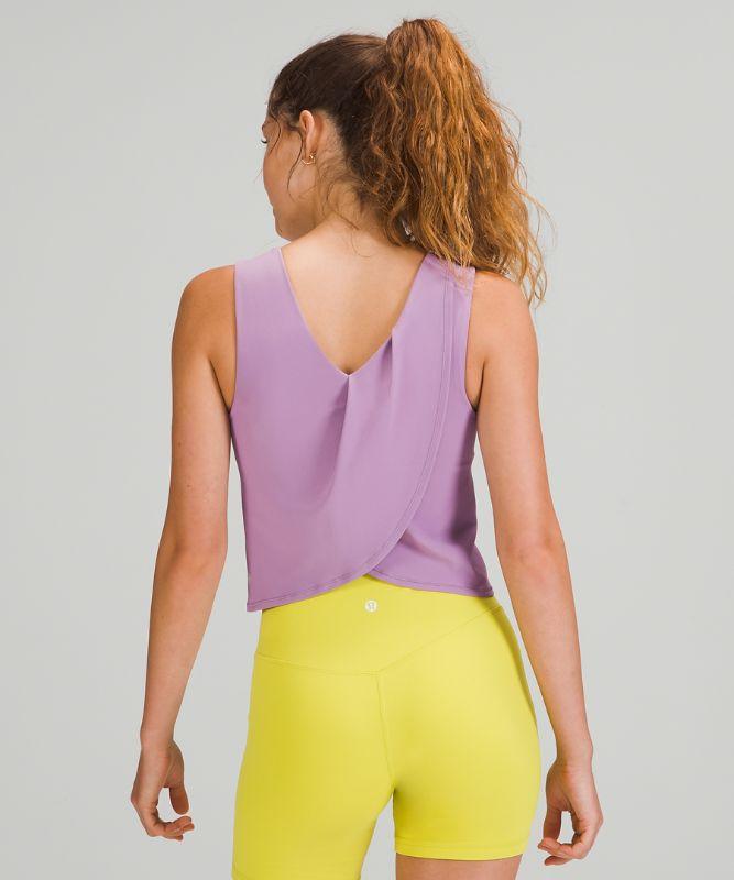 Nulu Twist Back Yoga Tank