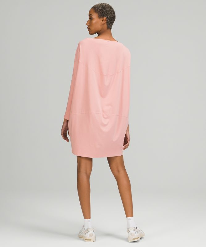 Back in Action LS Dress