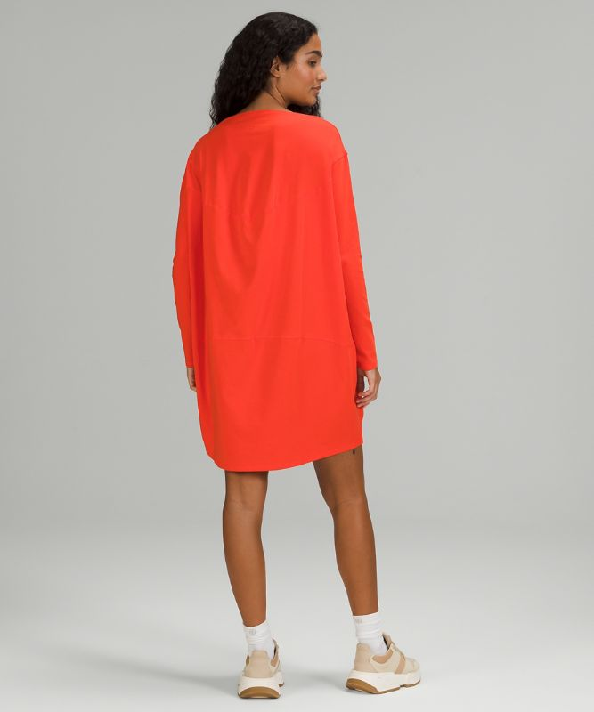 Back in Action Long Sleeve Dress