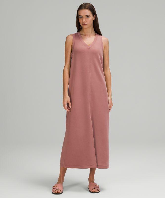 Ease of it All V-Neck Midi Dress Softstreme™