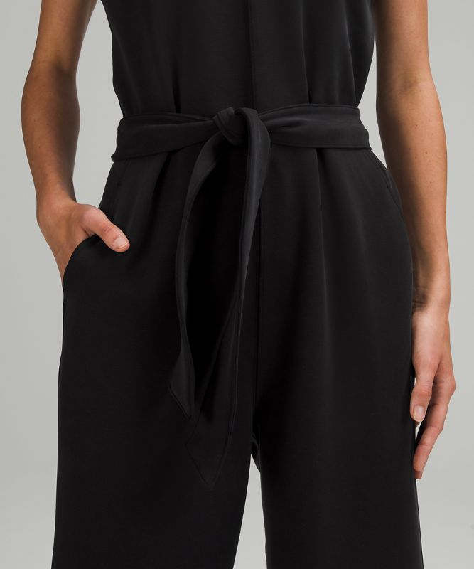 Ease of it All V-Neck Jumpsuit Softstreme™