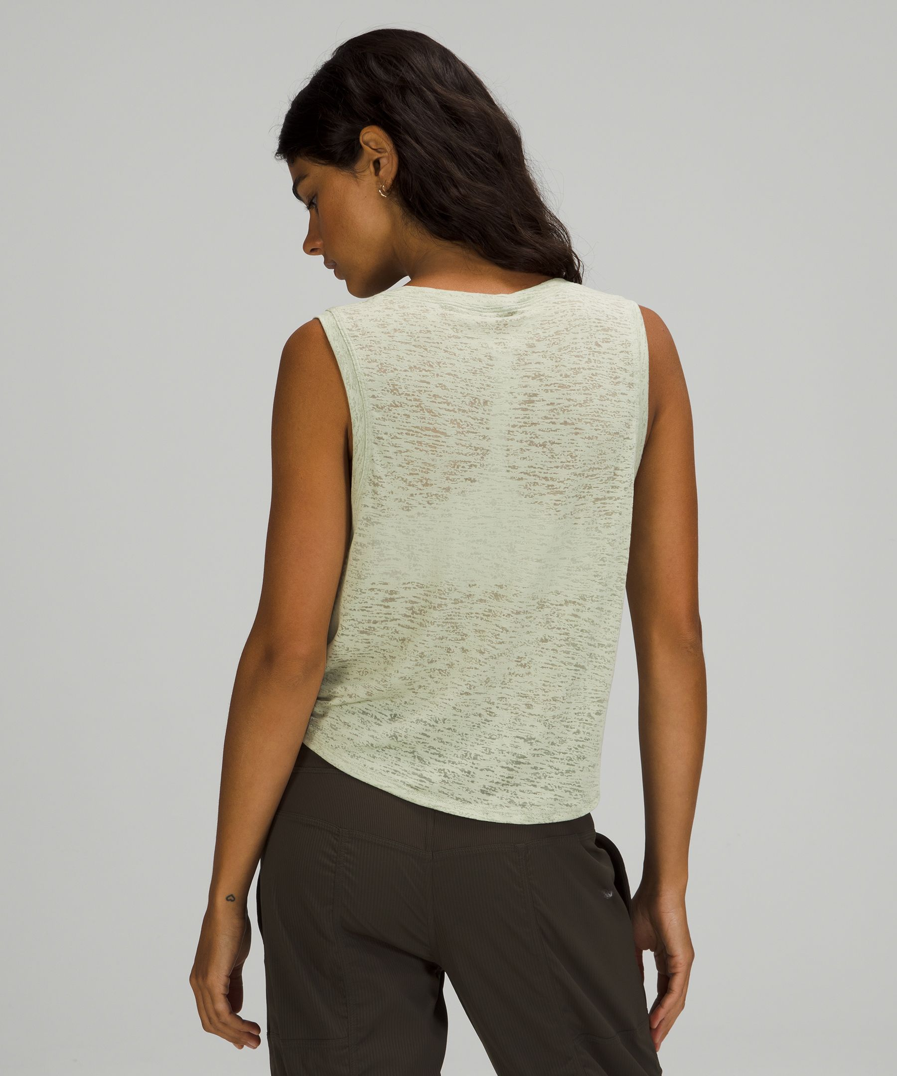 Relaxed Tie Front Tank