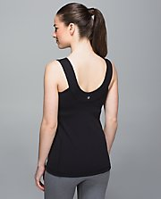 Scoop Back Tank BLK 6