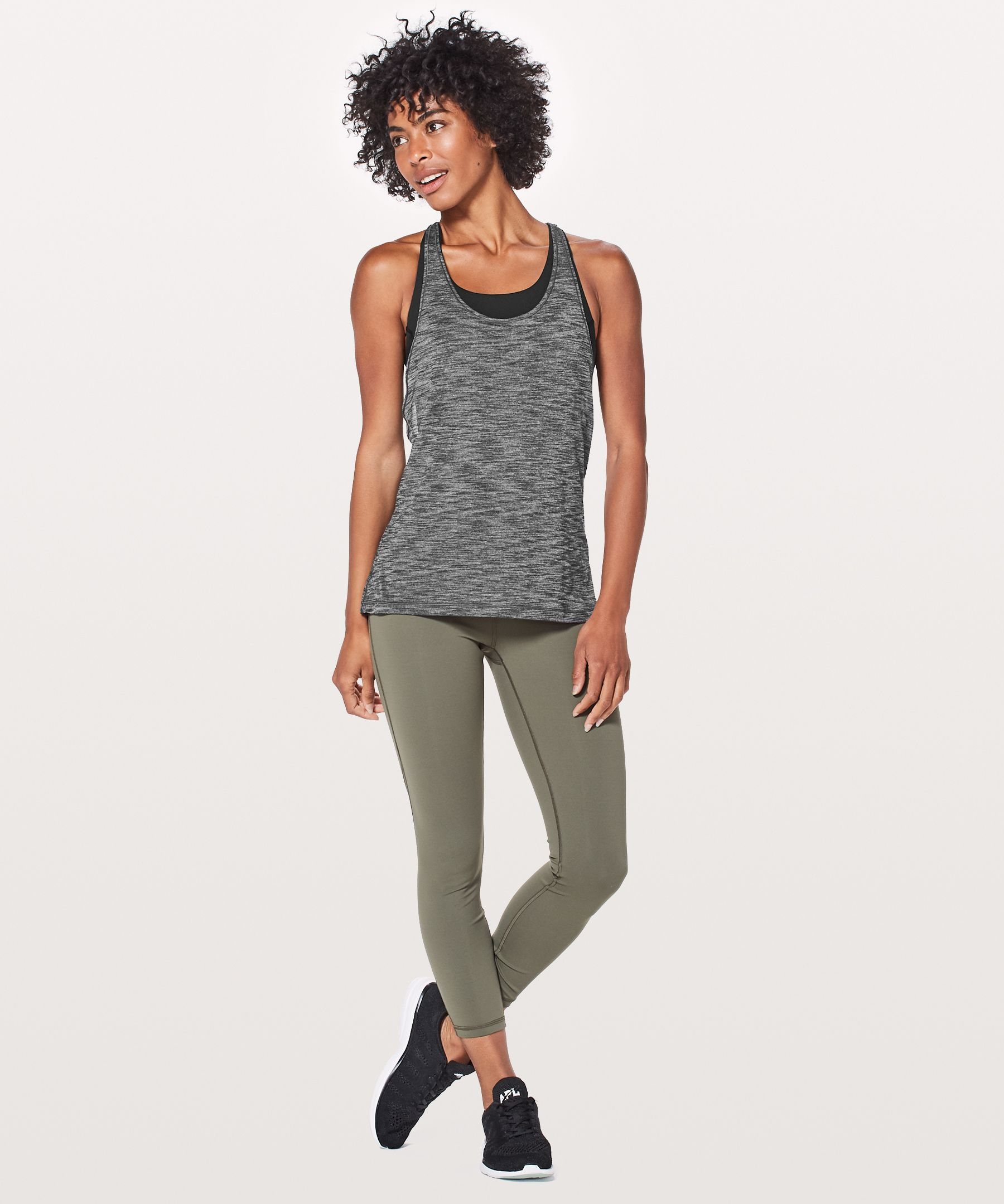 Twist & Toil Tank Medium Support For A  C/D Cup New by Lululemon