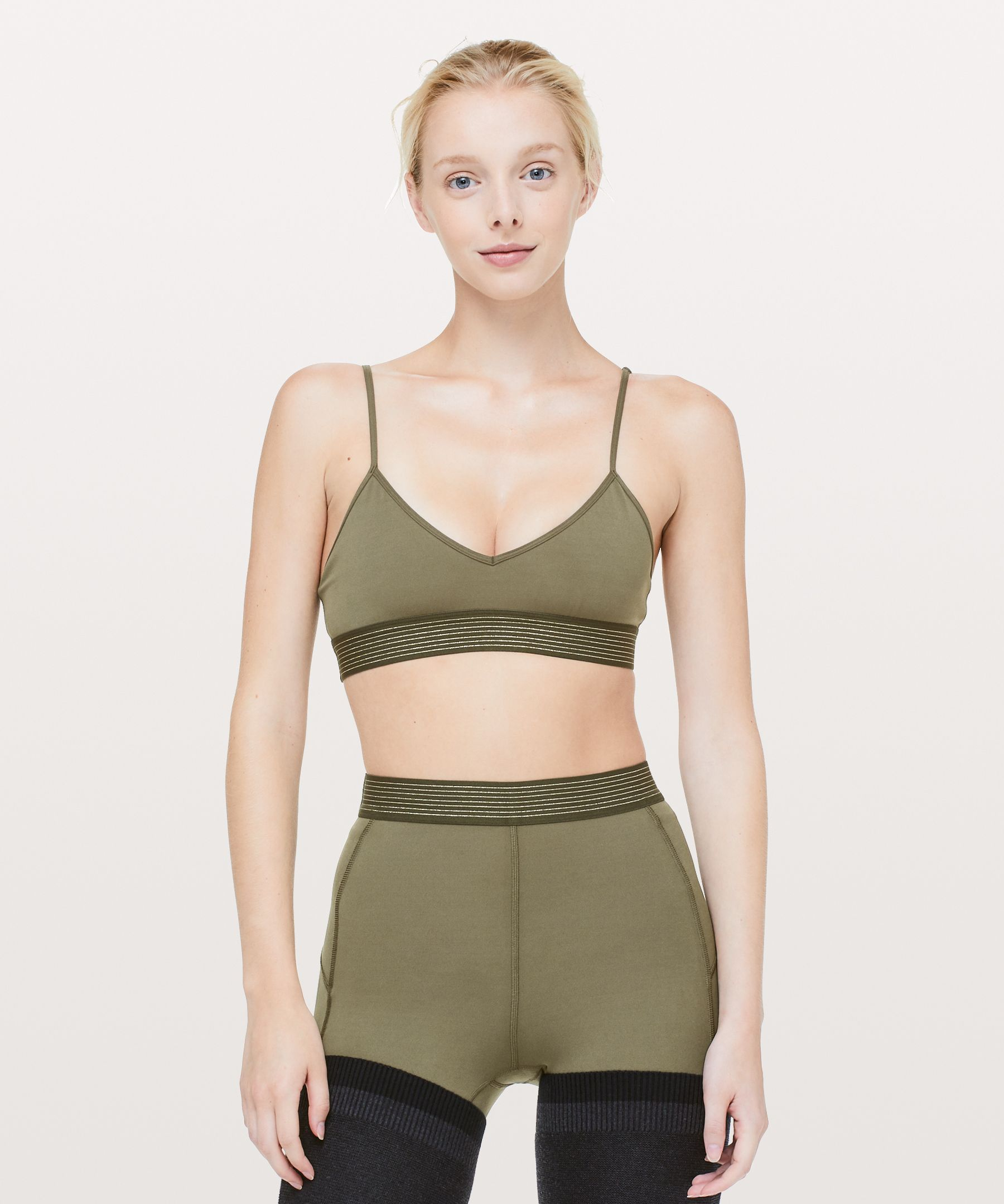 Principal Dancer Golden Lining Bralette by Lululemon