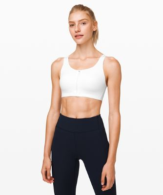 Enlite Bra Zip Front*High Support, A–E Cups