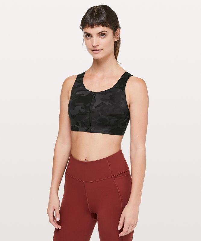 Enlite Bra Zip Front *High Support, A–E Cups