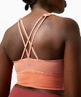 Free To Be Bra Long Line Rib Snow Wash*Light Support, A/B Cup