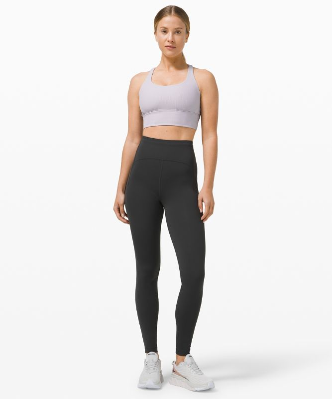 Energy Bra Long Line Ribbed *Medium Support, B–D Cup