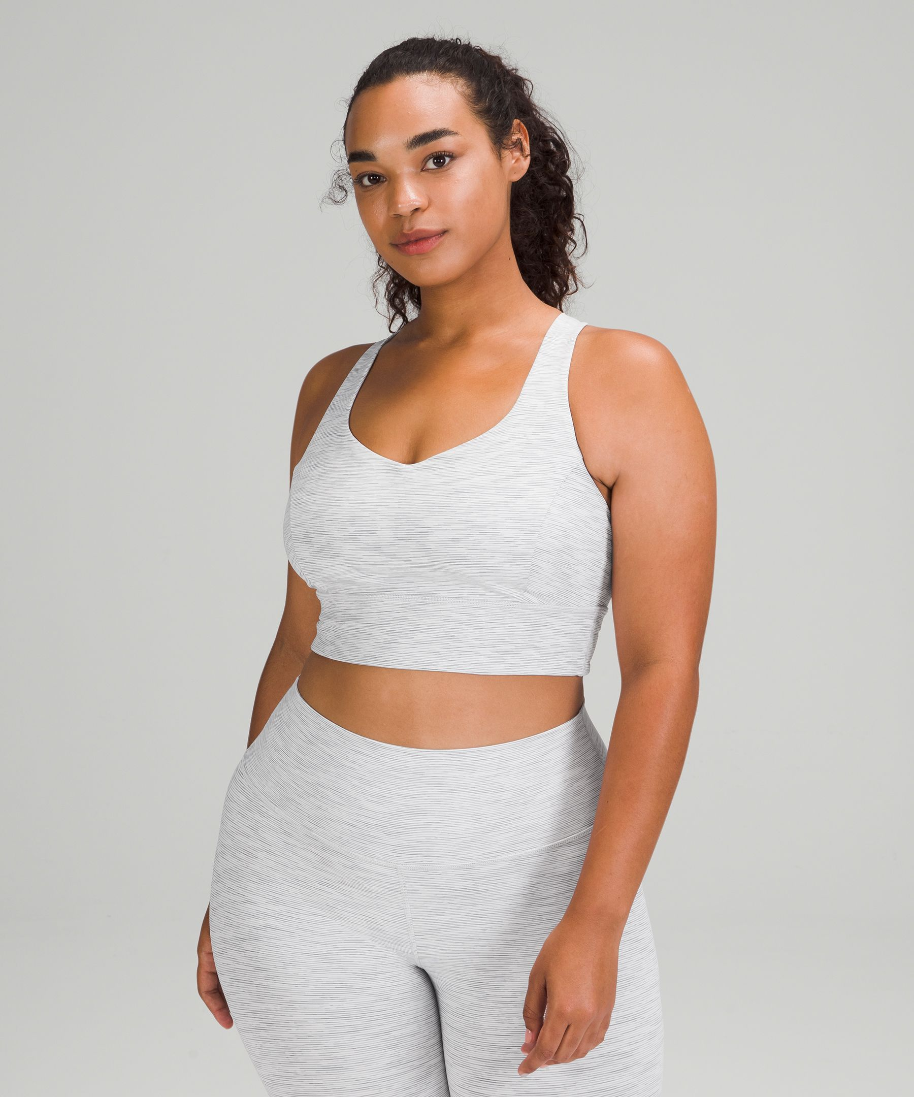 9fd87ddc3 Shoptagr | Free To Be Serene Bra Long Line by Lululemon