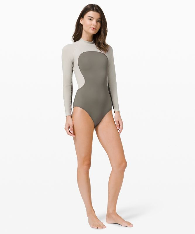 Wade the Waters LS One-Piece