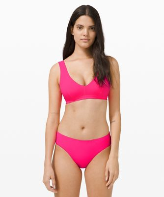 Waterside V Swim Top C/D *Seer