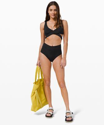 Haut de bikini croisé All that Glimmers