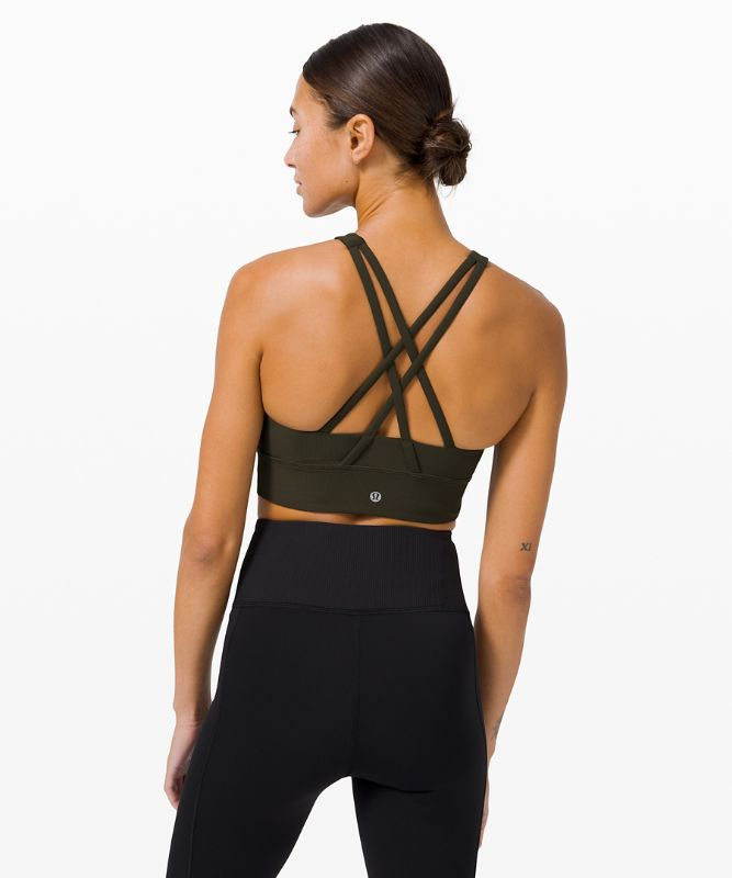 Energy Bra High Neck Long Line *Rib
