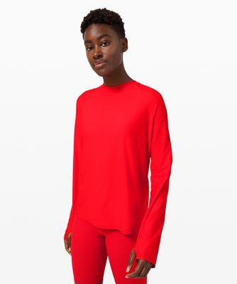 Waterside Entspanntes Langarm-Shirt mit UV-Schutz