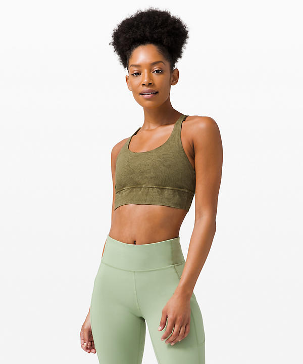 Energy Bra Long Line *Ice Dye | Women's Sports Bras