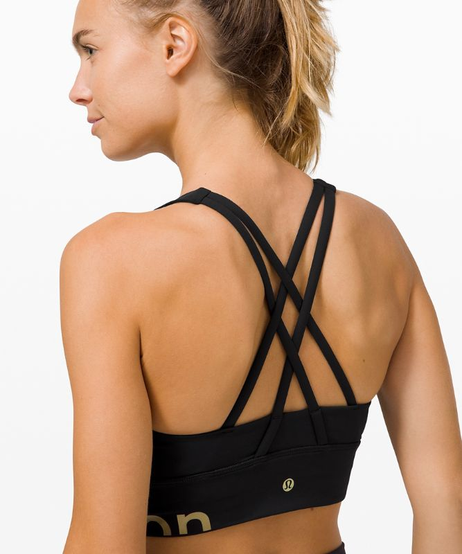 Energy Bra High Neck Long Line Zip Special Edition *Medium Support, B–D Cup
