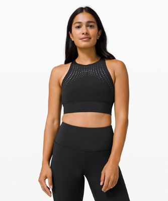 Energy Bra High Neck Long Line *Bold