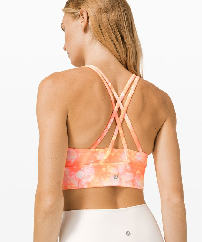 Energy Bra High Neck Long Line Shibori *Medium Support