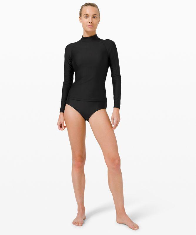 Waterside Langarm-Shirt mit UV-Schutz