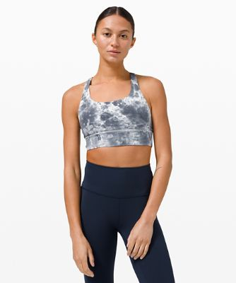 Energy Bra Long Line Marble Dye