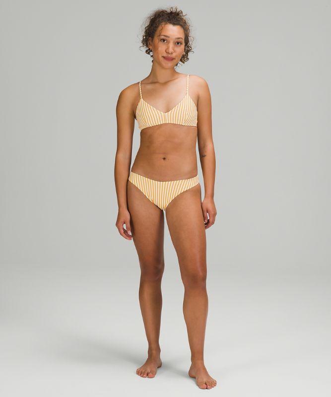 Seersucker Triangle Swim Top *A/B Cup Online Only