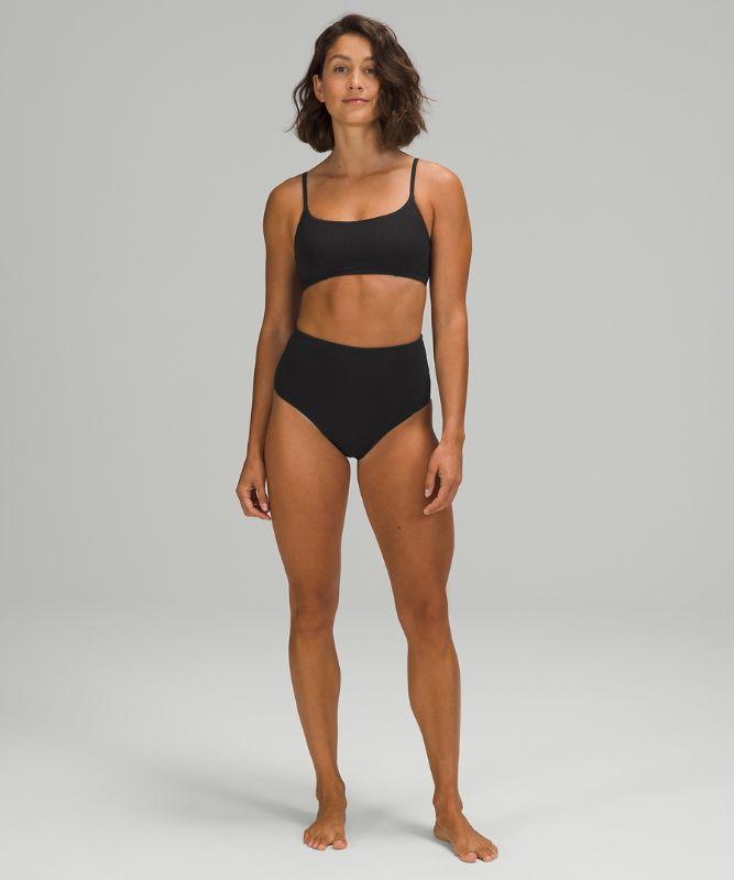 Seersucker Swim Top *B/C Cup