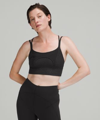 Nulu™ and Mesh Yoga Bra*Light Support, A/B Cups