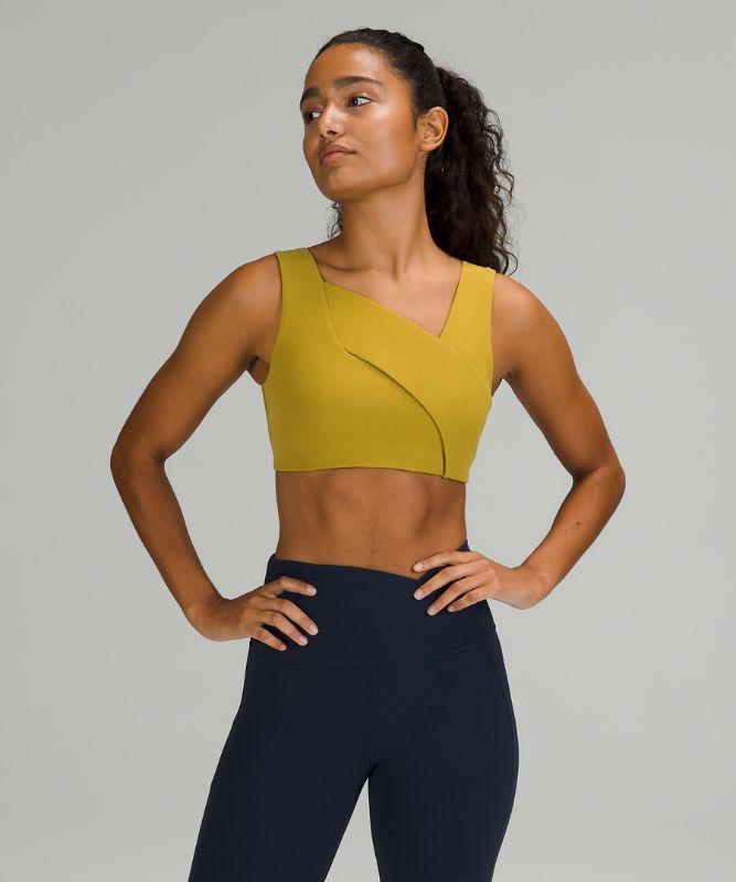 Nulu™ Cross-Front Yoga Bra, B/C Cups