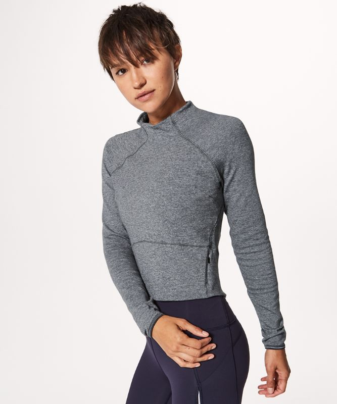 Hill And Valley Mock Neck