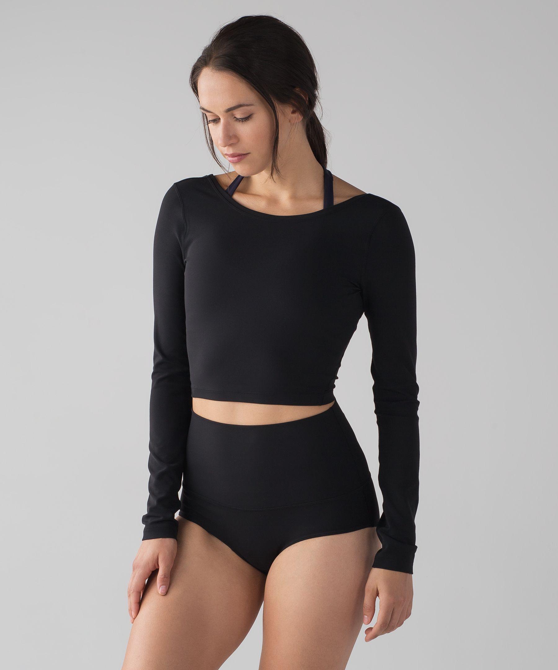 0f09b8d8c47 Shoptagr | Arise Cropped Long Sleeve by Lululemon