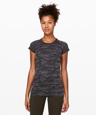 Swiftly Tech Kurzarm-Shirt mit Rundhalsausschnitt