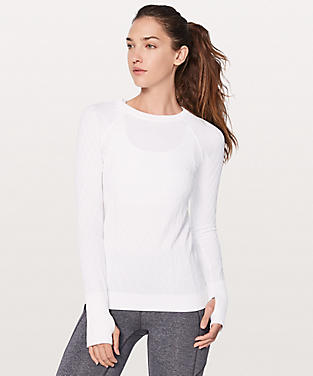 Women's Yoga   Running Shirts | Long Sleeve | lululemon athletica'
