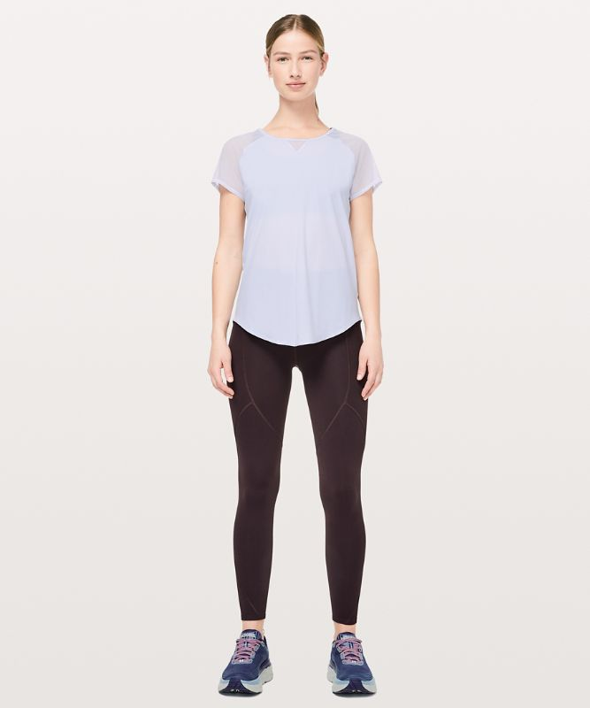 Mix And Mesh Tee