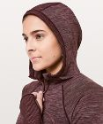Swiftly Wool Hooded Half Zip