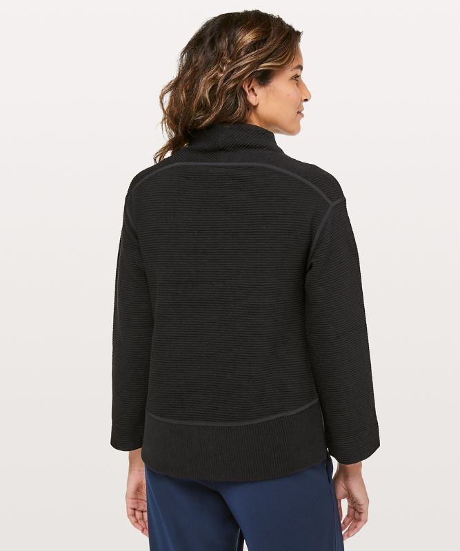 On Repeat Mock Neck