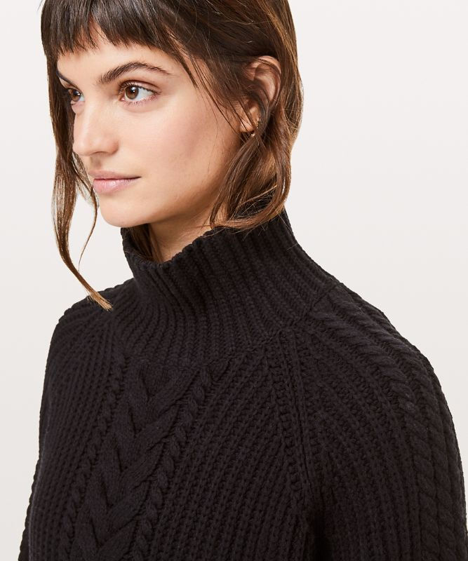 Bring the Cozy Turtleneck